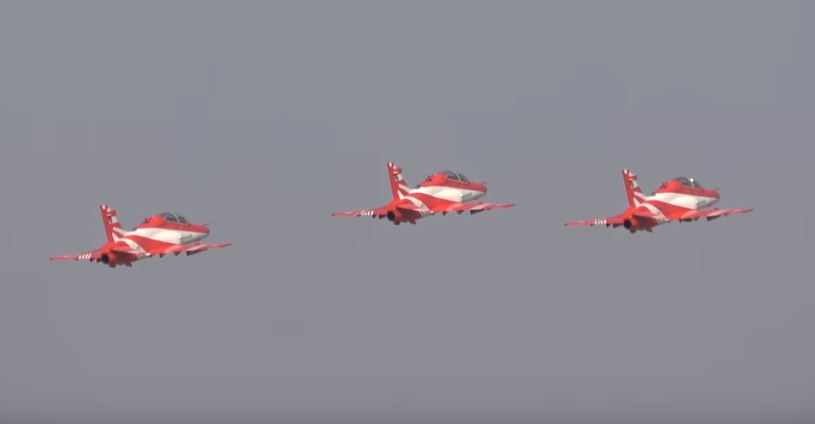 Indian Air Force SuryaKiran Aerobatic Team