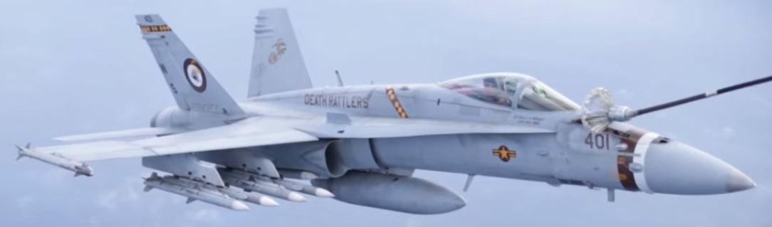 USMC F/A-18 Hornet
