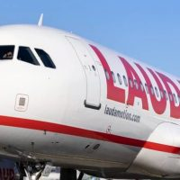LAUDAMOTION AIRBUS A320 ABORTS TAKE OFF DUE TO ENGINE ISSUES