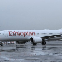 ETHIOPIAN AIRLINES B737 MAX 8 CRASHED AFTER TAKE OFF FROM ADDIS ABABA AIRPORT