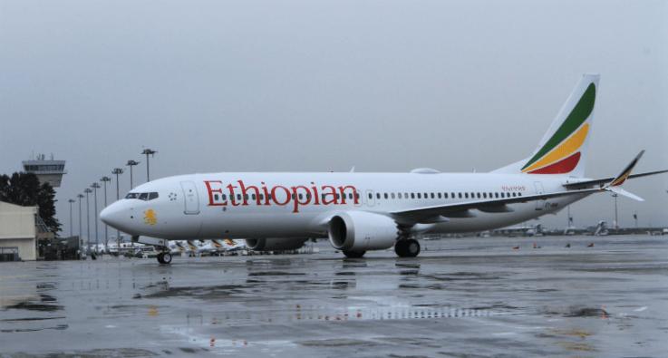 Ethiopian Airline B737 MAX 8