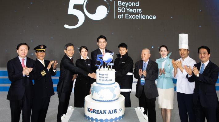 Korean Air 50th anniversary
