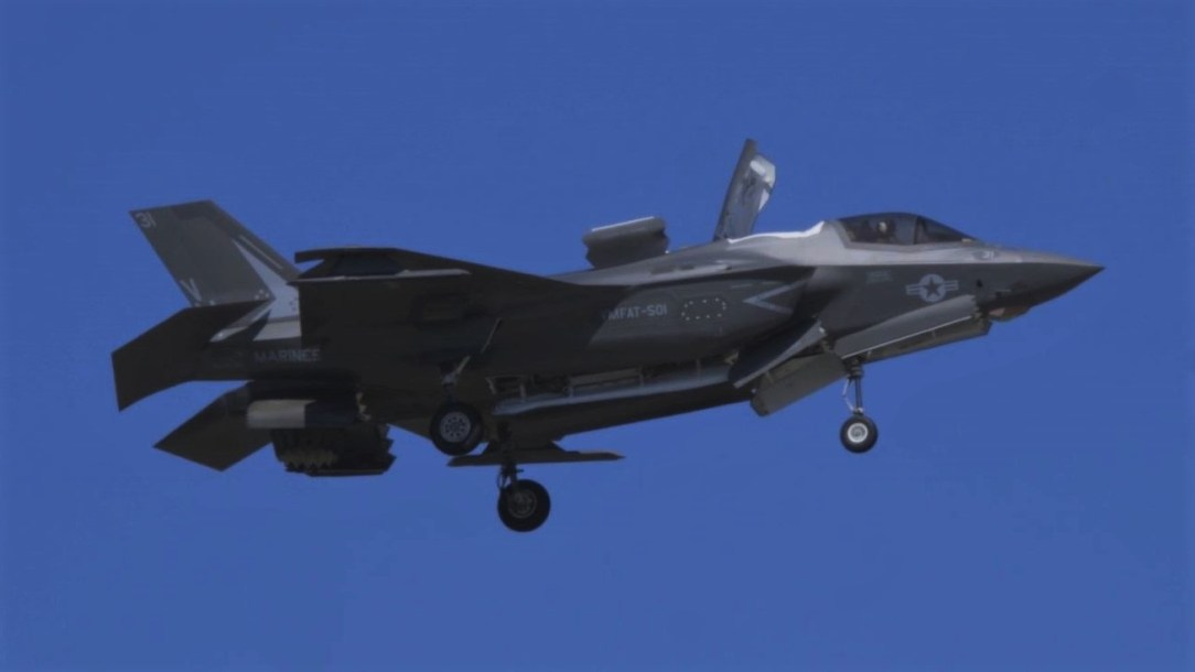 USMC F-35B at MCAS Beaufort Airshow
