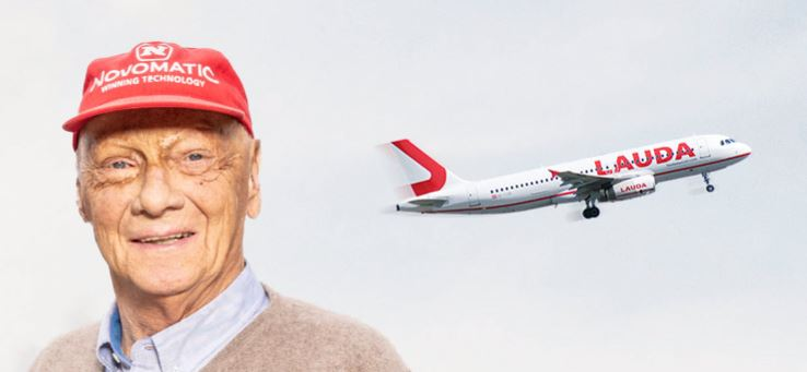 AVIATOR AND FORMULA 1 RACING LEGEND NIKI LAUDA DIES AT THE AGE OF 70