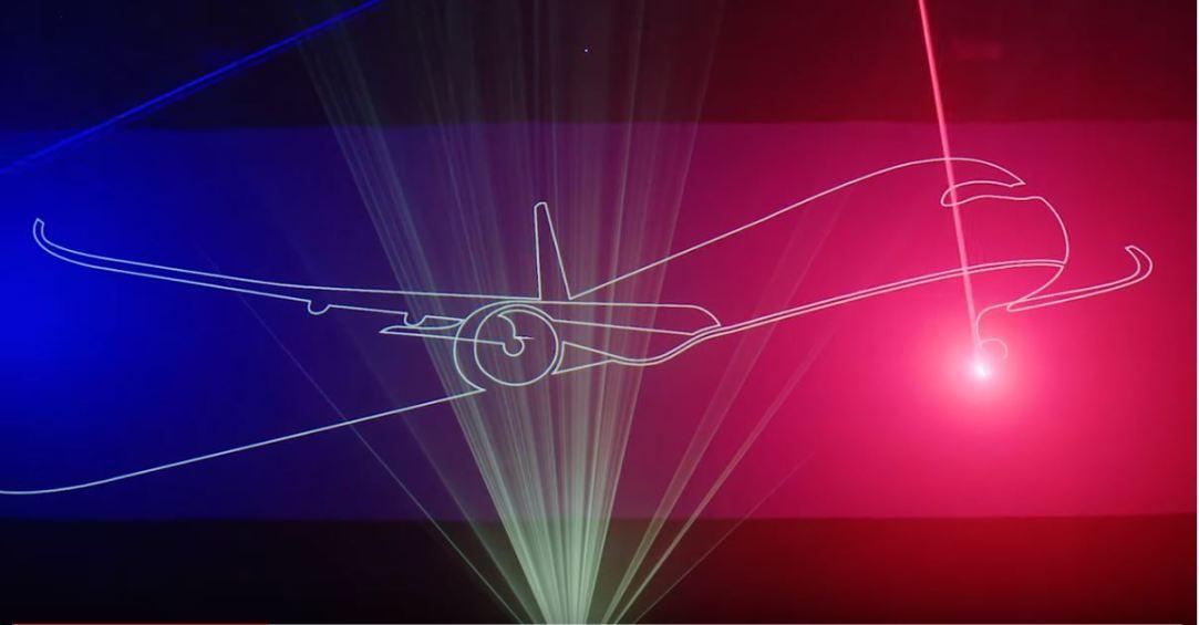 British Airways - A350 Laserdrome