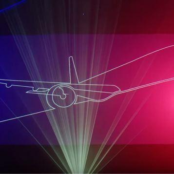 British Airways - A350 Laserdrome