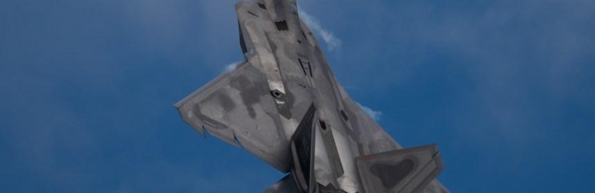F-22 Twilight Demo at Oskosh 2019