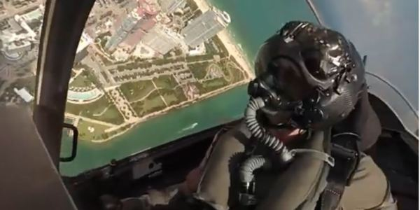 Spectacular Footage of F-35 Demo From Inside The Cockpit