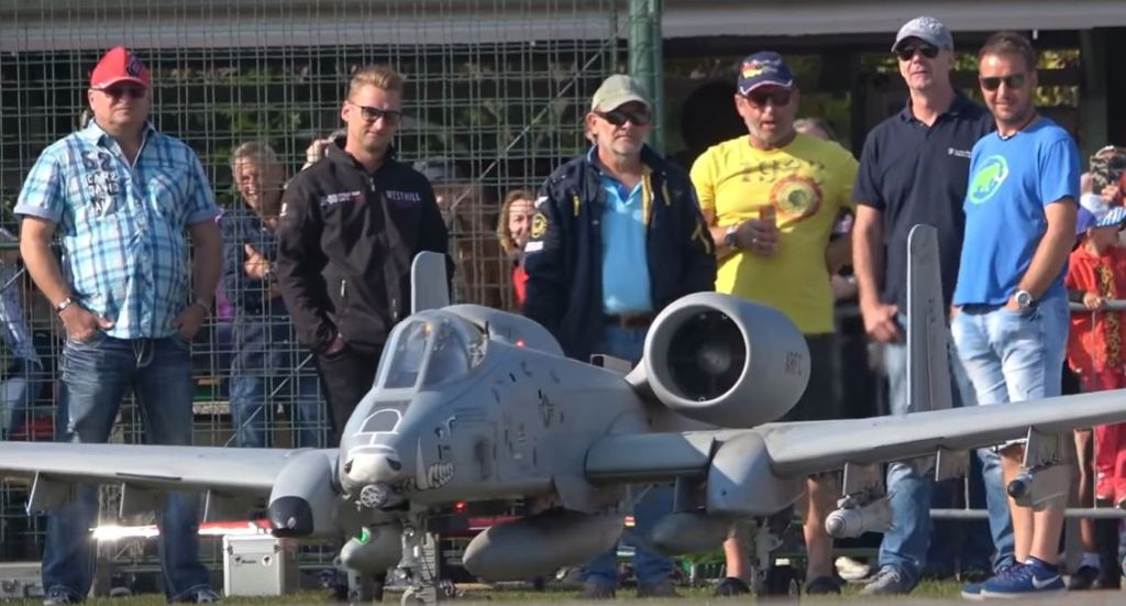 GIANT RC A-10 WARTHOG WITH BRRRRT & FLARES!