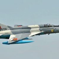 THE ROMANIAN AIR FORCE MIG-21 LANCER - HIGHLIGHT OF THE RIAT 2019 AIRSHOW