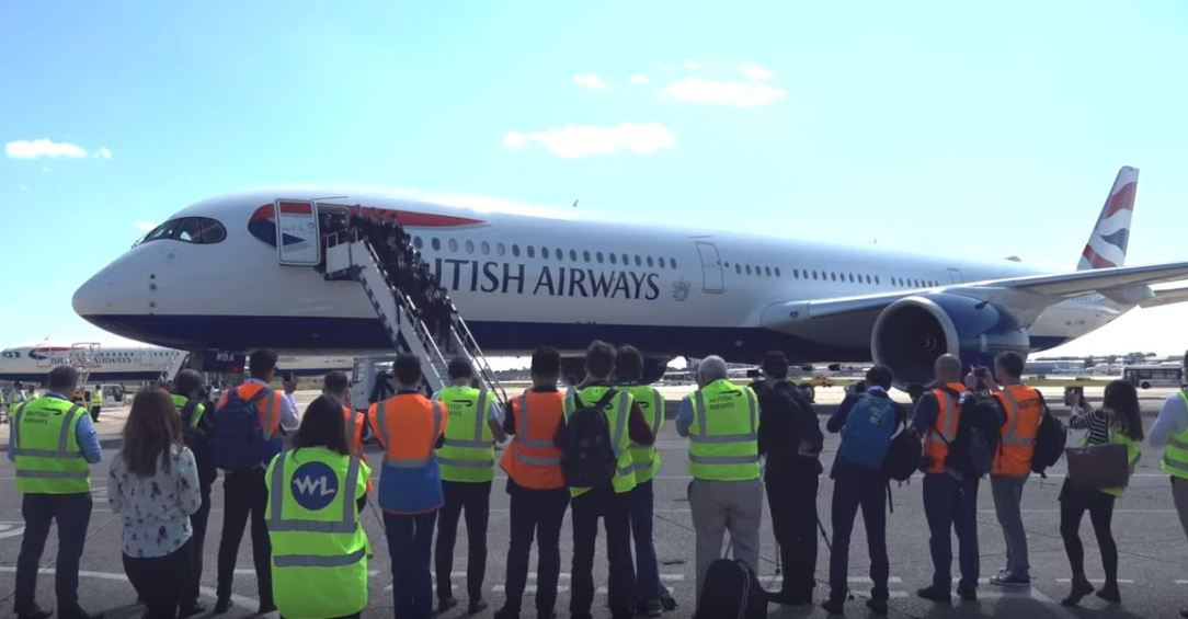 British Airways - A350 Celebration