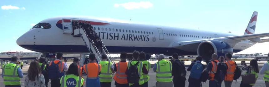 British Airways - A350 Celebration