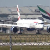 VIDEO - BRITISH AIRWAYS' A350 INAUGURAL FLIGHT