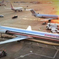 VIDEO - FAREWELL FLIGHT OF THE AMERICAN AIRLINES MD-80
