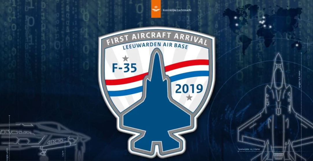 The first operational RNLAF F-35 has arrived in The Netherlands