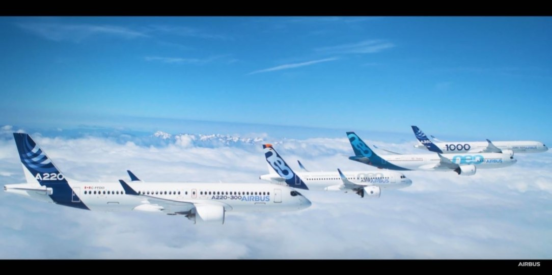 Airbus Formation Flight