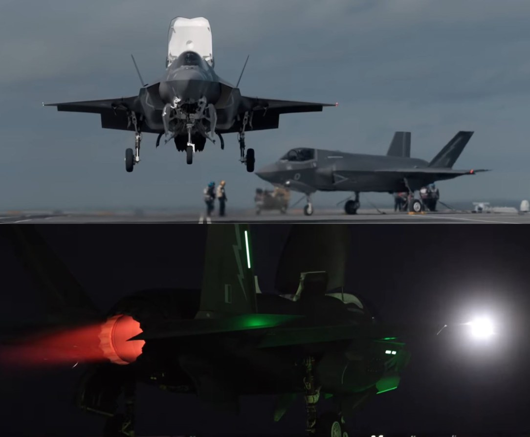Royal Navy F-35B completes first phase of test flights on HMS Queen Elizabeth