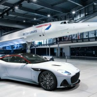 BRITISH AIRWAYS AND ASTON MARTIN HONOR CONCORDE WITH EXCLUSIVE SPORTS CAR