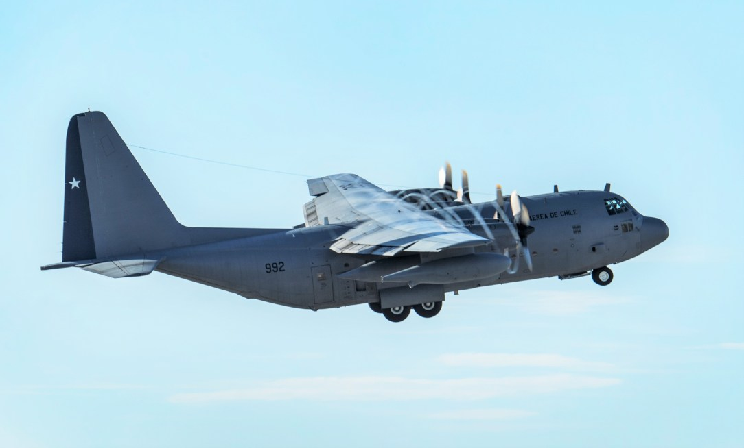 Chilean Air Force C-130 Hercules missing on its way to Antarctica