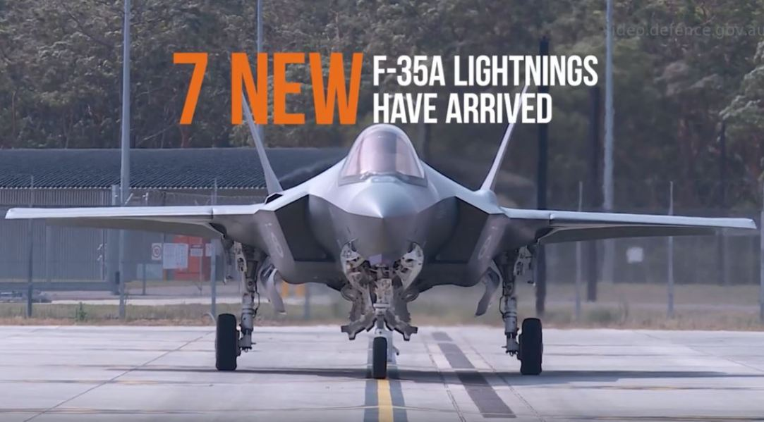 7 New F-35A Lightnings Have Arrived