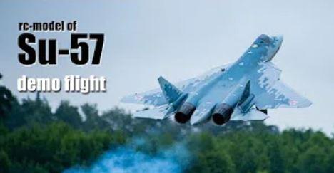 Su-57 RC Model
