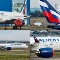 FIRST AEROFLOT AIRBUS A350 ROLLS OUT OF THE PAINT SHOP REVEALING THE AIRLINE'S NEW LIVERY