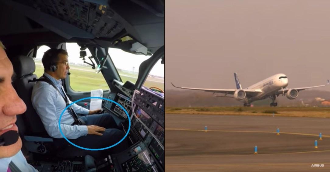 Airbus ATTOL test flight