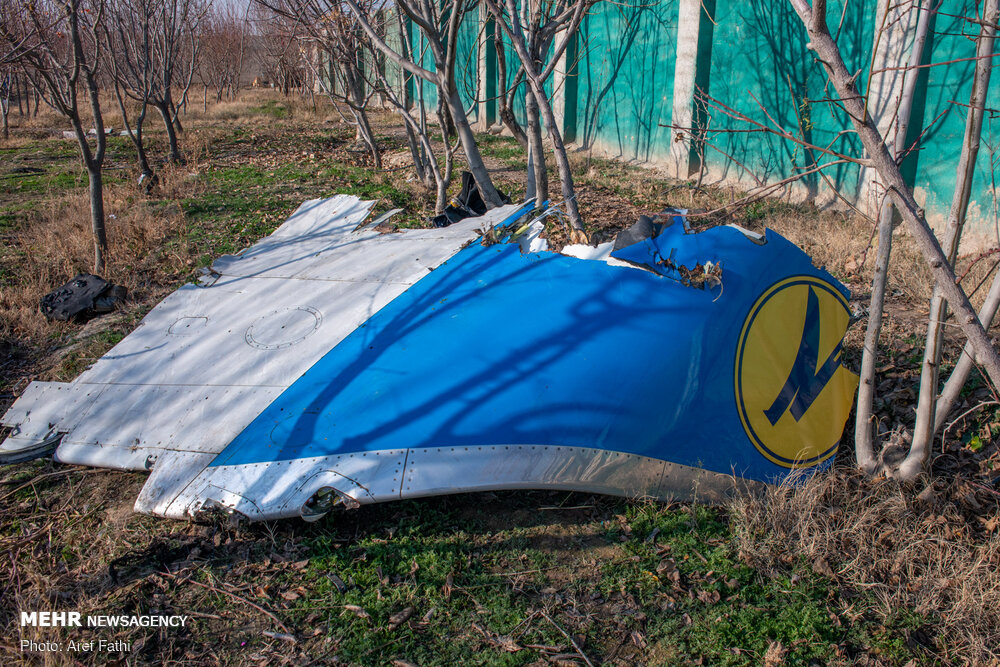 Iran admits military accidentally shot down Ukraine International Boeing 737 Flight 752