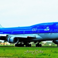 KLM HAS SAID FAREWELL ONCE AGAIN TO A BOEING 747