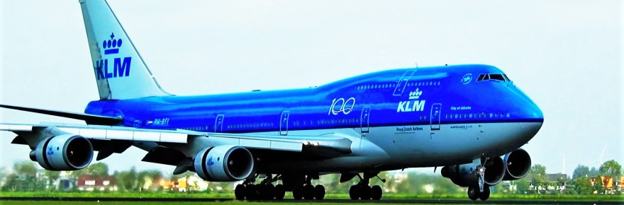 KLM has said farewell again to a Boeing 747