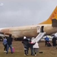 PEGASUS BOEING 737 SKIDDED OFF RUNWAY AT SABIHA GÖKCEN AIRPORT IN ISTANBUL