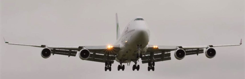 Wamos Boeing 747 conducts corona flight from China to UK