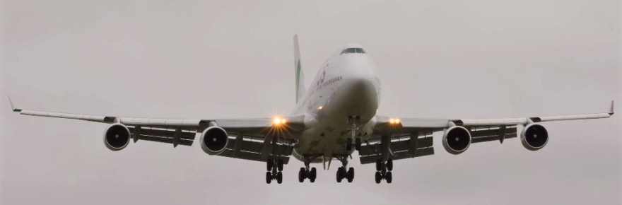 Wamos Boeing 747 conducts corona flight from China to UK