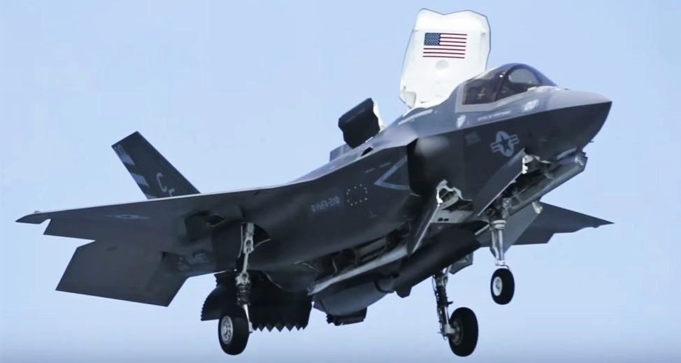 MCAS F-35B Lightning II Demo at RIAT 2016
