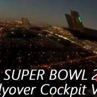 VIDEO | SUPER BOWL LIV - FLYOVER COCKPIT VIDEO