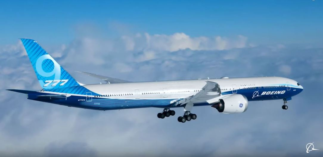 Boeing 777X First Flight