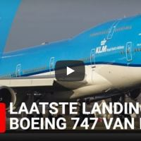 VIDEO - WATCH LIVE STREAM LAST ARRIVAL KLM BOEING 747