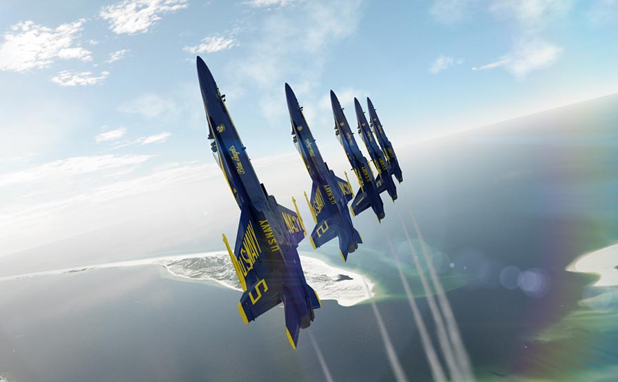 Blue Angels to Flyover Dallas, Houston and New Orleans to honor COVID-19 Responders