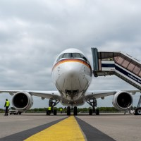 GERMANY RECEIVES FIRST AIRBUS A350 GOVERNMENT AIRCRAFT