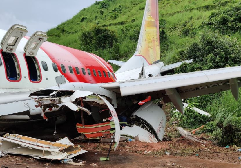 An Air India Express Boeing 737 Has Crashed On Landing At Calicut In India