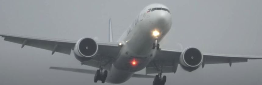 Kuwait Airways Boeing 777 Makes Hard Landing At Amsterdam Airport