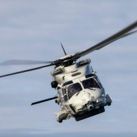 WRECKAGE OF DUTCH NH90 MARINE HELICOPTER LOCATED ON SEABED NEAR ARUBA