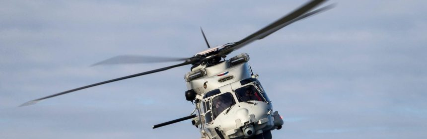 WRECKAGE OF DUTCH NH90 MARINE HELICOPTER LOCATED NEAR ARUBA