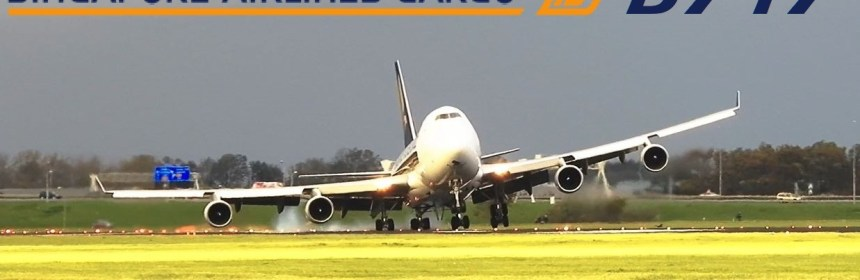 Video - Hard Landing Of Boeing 747 Cargo Aircraft At Amsterdam Airport