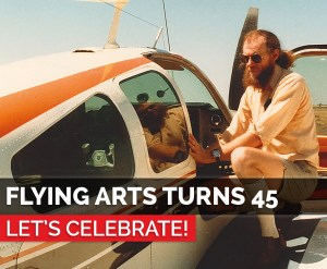Flying Arts Turns 45