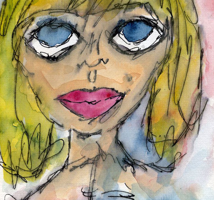 Blond girl (SOLD)