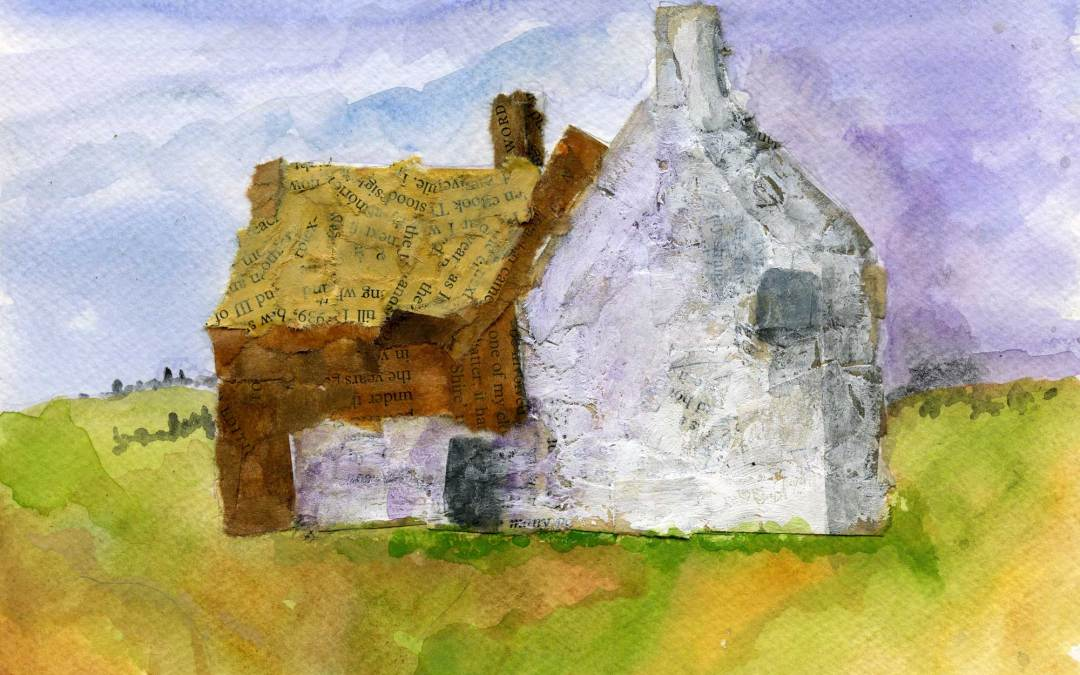 Cottage collage (SOLD)
