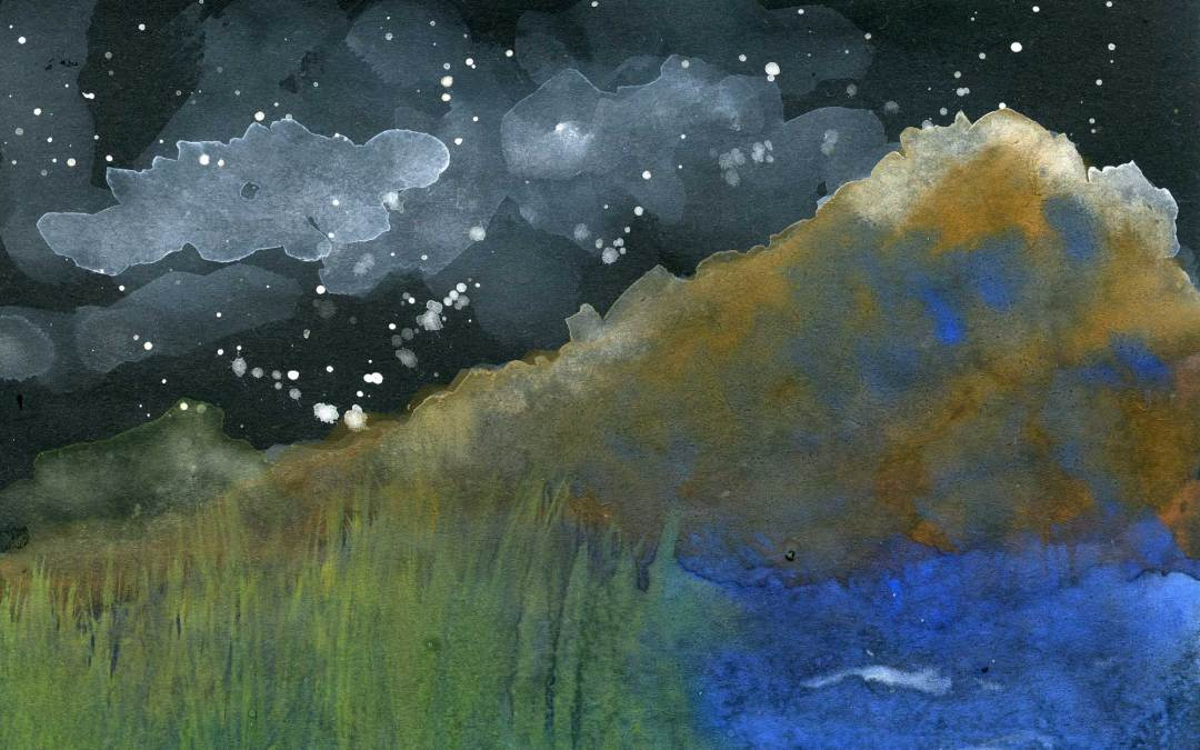 Nighttime landscape (SOLD)