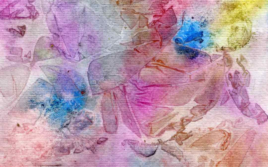 """Original abstract """"Spring"""" – Daily painting #544 (SOLD)"""
