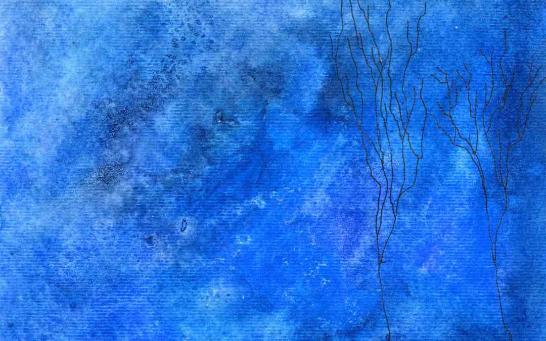 Bare Trees – Daily Painting #554 (SOLD)